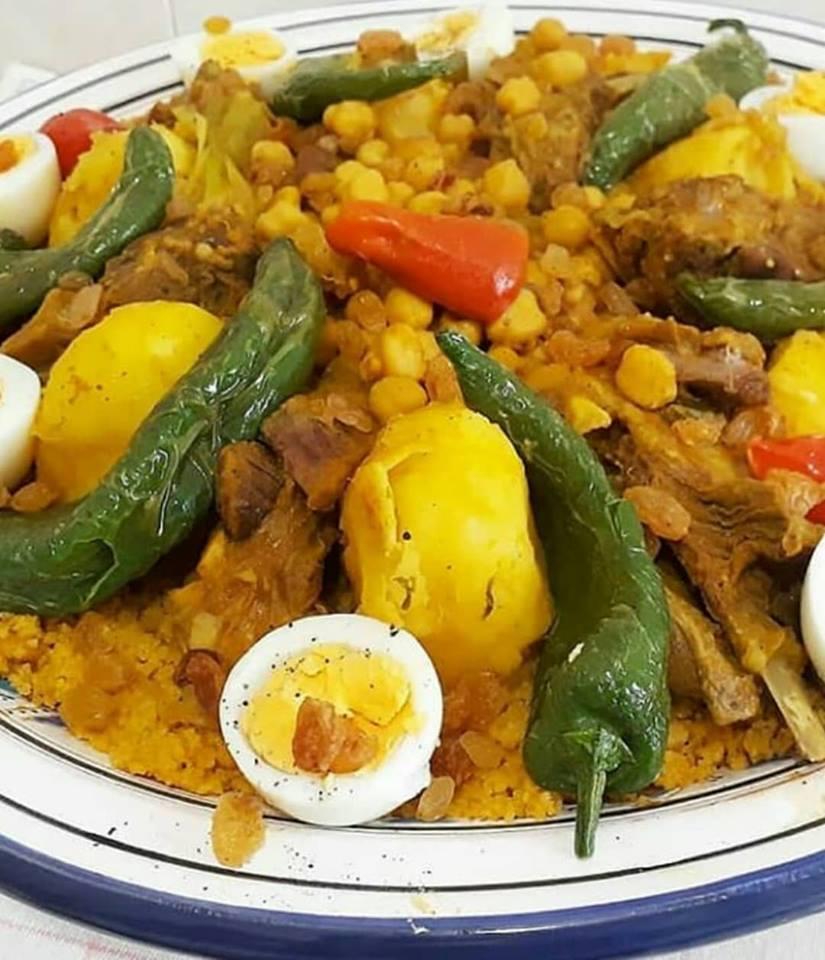 Tunisian Lamb Couscous Macarons Goodies